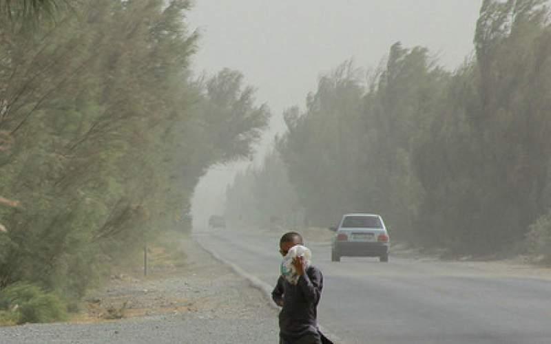 وزش باد خیلی شدید در شرق کشور