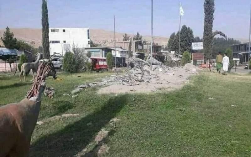 طالبان مجسمههای اسببدخشان را تخریب کردند