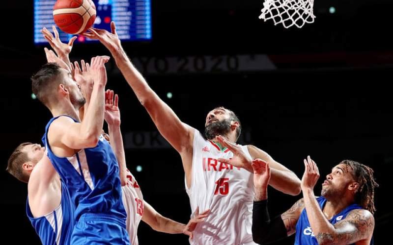 مصاف  بسکتبال ایران با آمریکا و والیبال با کانادا