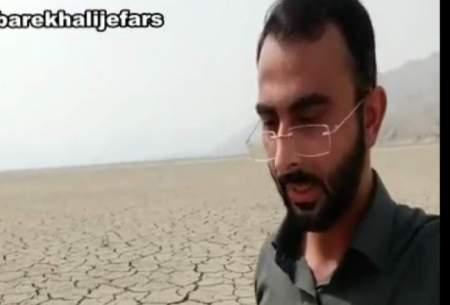 خشک شدن سد نیان در بندرعباس