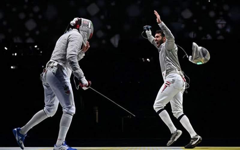 تیم شمشیربازی ایران ششم المپیک شد