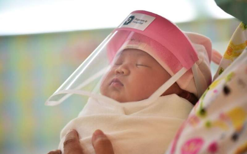 نوزاد ۳ ماههی اردکانی  ویروس کرونا گرفت