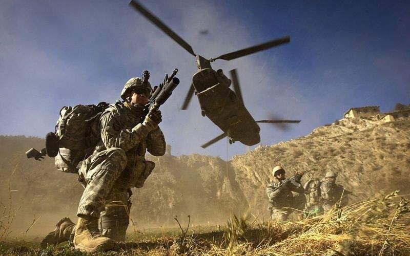 خروج ۹۵ درصدی نیروهای آمریکا از افغانستان