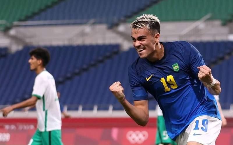 صعود تیم های فوتبال برزیل و کره در المپیک