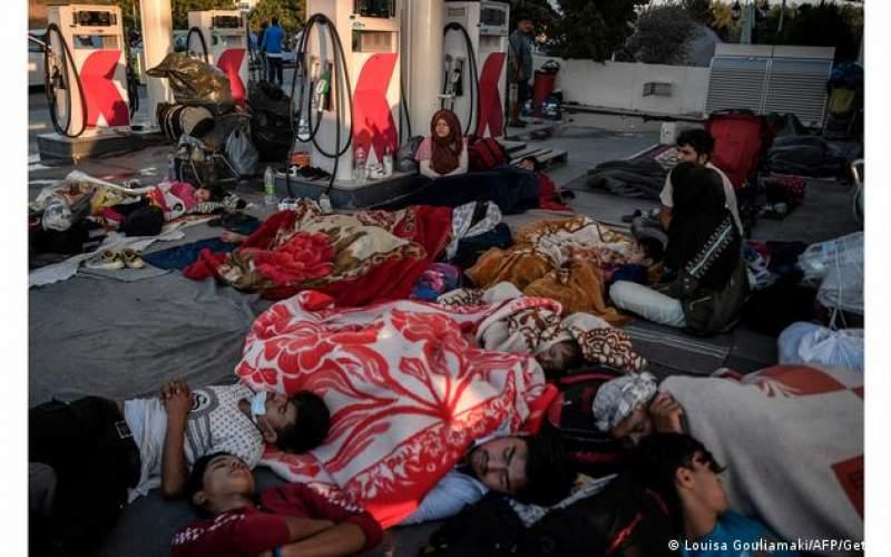 دو هزار پناهجو در انتظاراسترداد به ترکیه