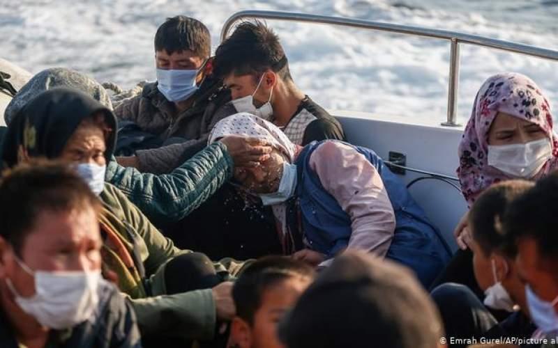 ممانعت ازعبور قایق  مهاجران ایرانی و افغان