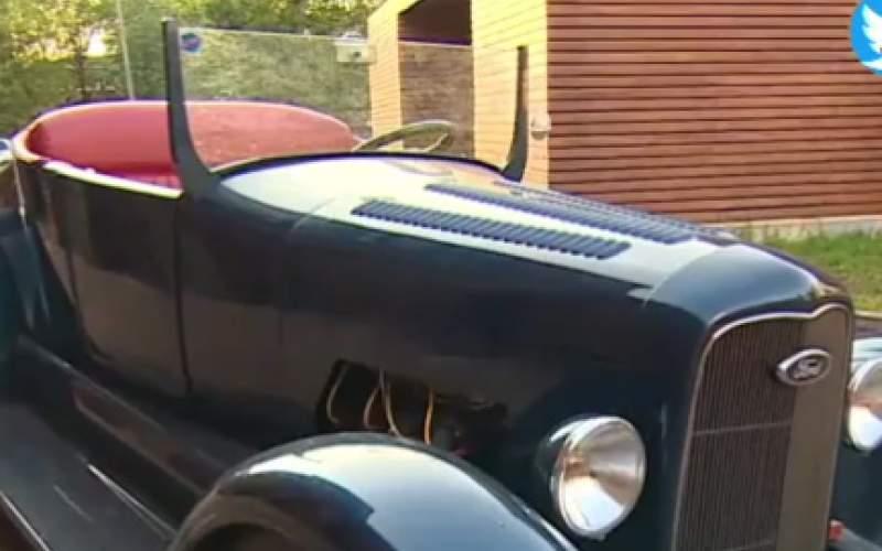 عاشقان ماشینهای کلاسیک این ویدئو را ببینند