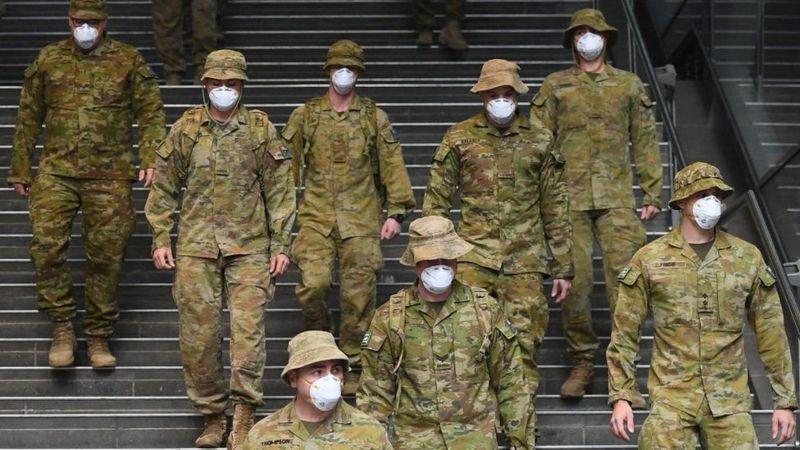 توسل به ارتش برای قرنطینه سیدنی