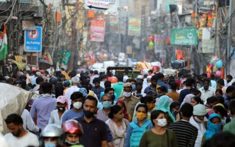 افزایش مجدد مبتلایان جدید کرونا در هند