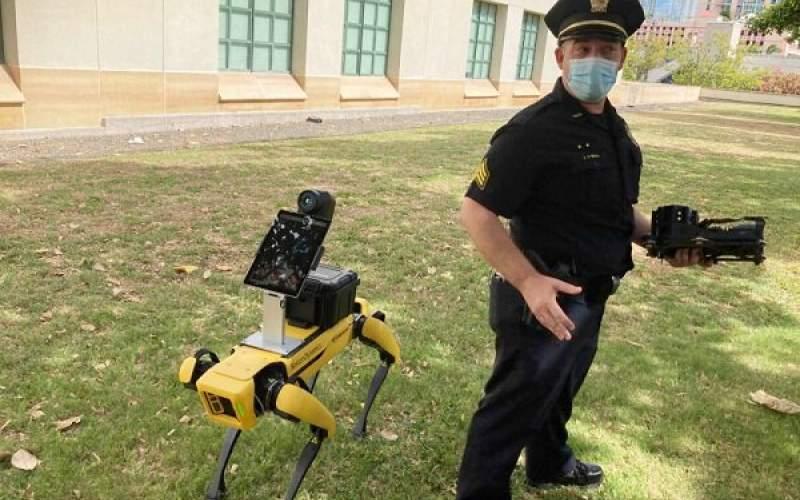 سگهای رباتیک به پلیس هاوایی پیوستند