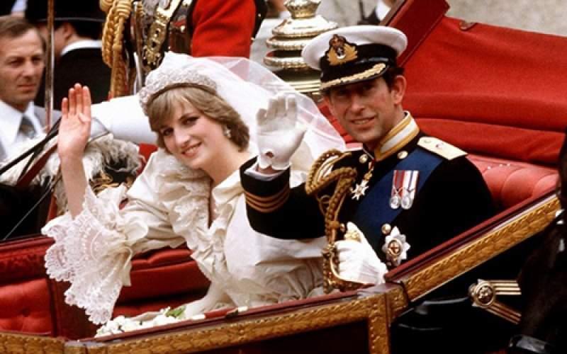 حراج کیک عروسی پرنسس دایانا پس از ۴۰ سال