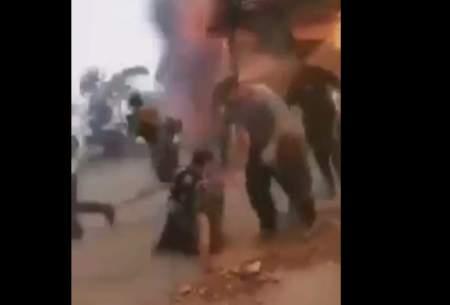 ویدئوی جدید از آتشسوزی در جنگلهای ترکیه