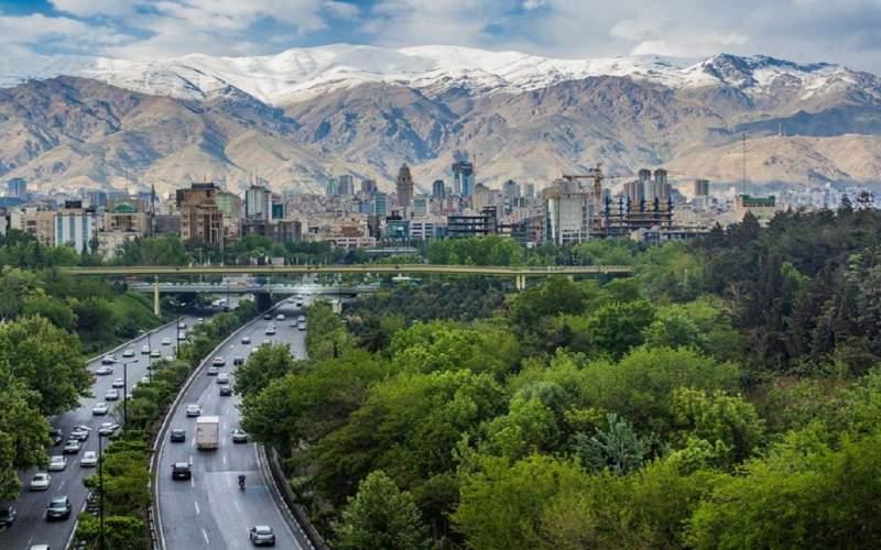 هوای قابل قبول تهران در دهمین روز مرداد ماه