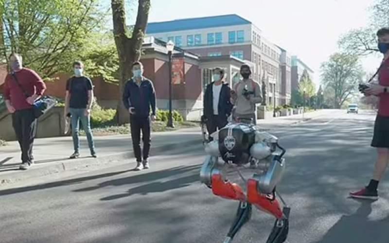 ربات دوپا موفق به دویدن مسافتی ۵کیلومتری شد