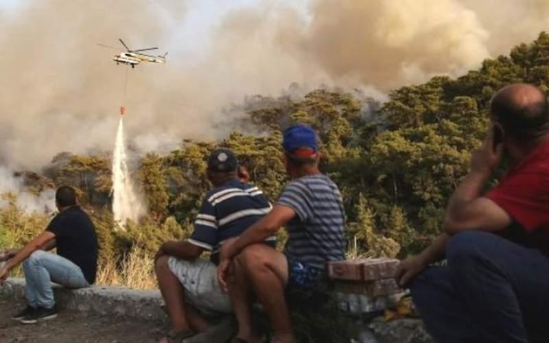 آتشسوزی گسترده در منطق گردشگری ترکیه