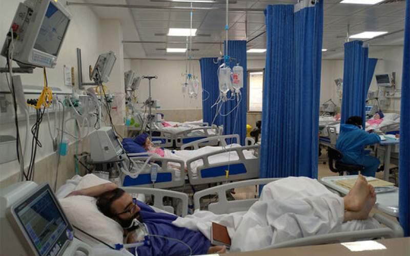 کمبود تختهای بیمارستانی در تهران