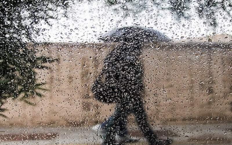 پیشبینی رگبار و بارشهای پراکنده در کشور