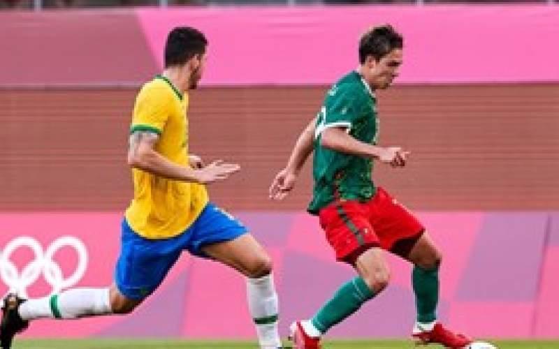 فوتبال المپیک؛ صعود دشوار برزیل به فینال