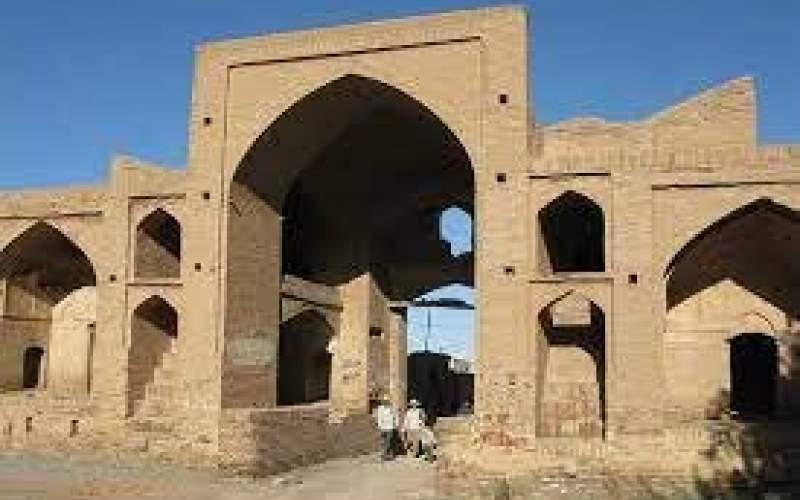 مرمت کاروانسرای تاریخی عباسآباد میامی