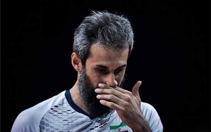«کاپیتان معروف» با پیراهن تیم ملی وداع کرد