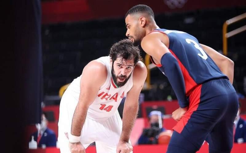 وقتی بسکتبال هدفش را گم میکند