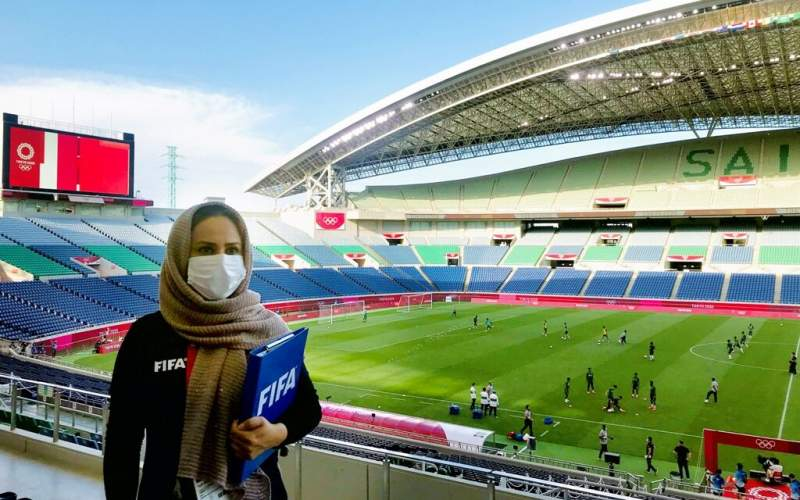 شهریاری ناظر فینال فوتبال زنان المپیک توکیو شد