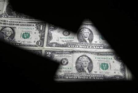 ارزش دلار مقابل بیشتر ارزها کمی کاهش یافت