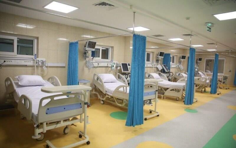 تخت خالی بیمارستان در خوزستان نمانده است