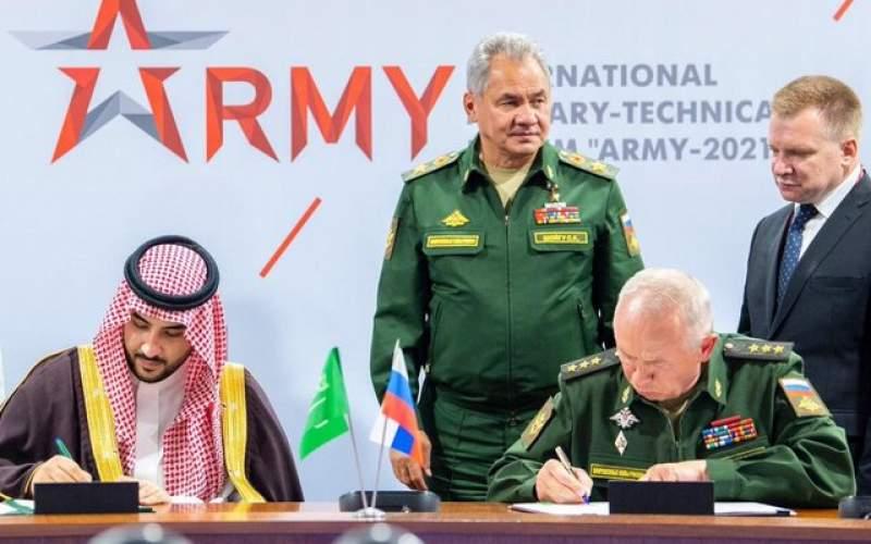 امضای توافقنامه نظامی عربستان و روسیه