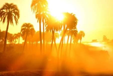 آخر هفته خوزستان، موج گرما و شرجی