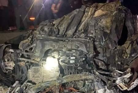 ۸ نفر در آتشسوزی خودرو در جهرم جان باختند