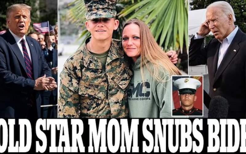 دعوت مادر سرباز کشته شده از ترامپ
