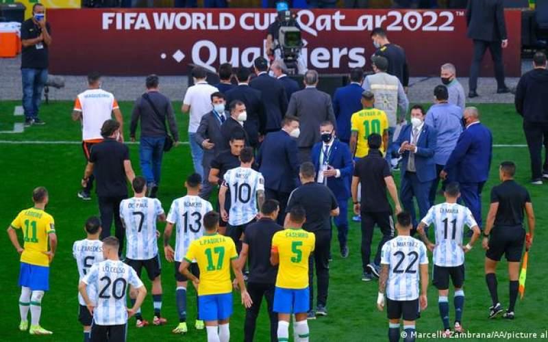 تشکیلپرونده انضباطی فیفا برای برزیل و آرژانتین