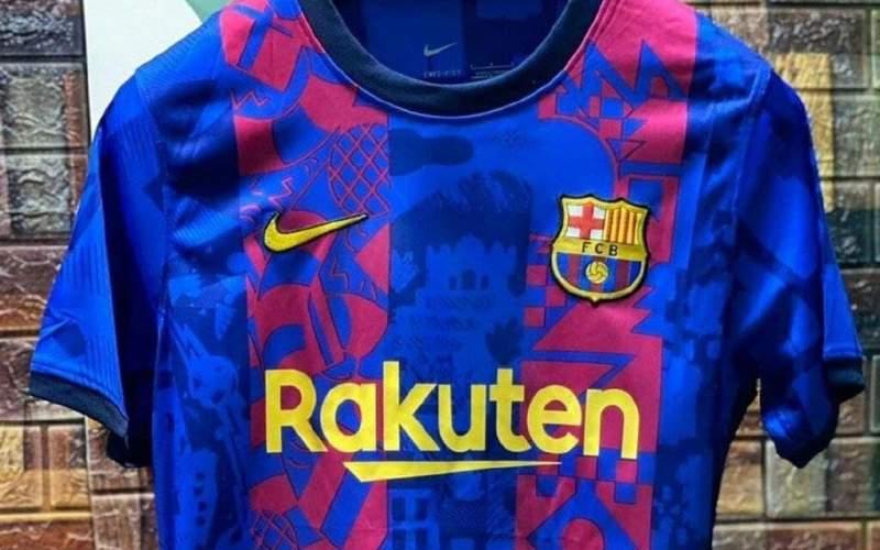 طراحی خاص بارسلونا برای کیت لیگ قهرمانان