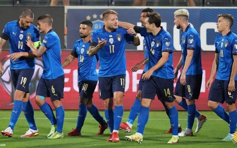 ایتالیا هم چنان رکورددار است