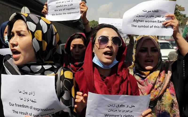 ادامه تظاهرات علیه طالبان در کابل، تهران و مشهد