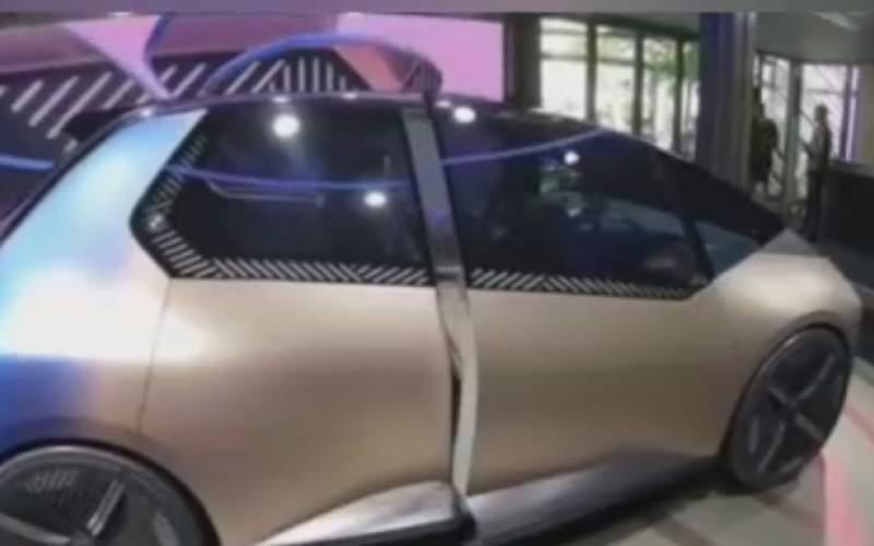 رونمایی از جدیدترین خودرو برقیکمپانی BMW