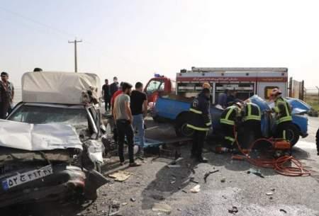 تصادف مرگبار در ارومیه؛ ۴ نفر جان باختند