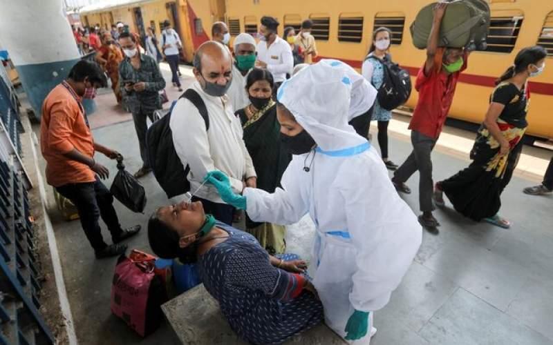 کاهش موارد ابتلای روزانه به کووید ۱۹ در هند