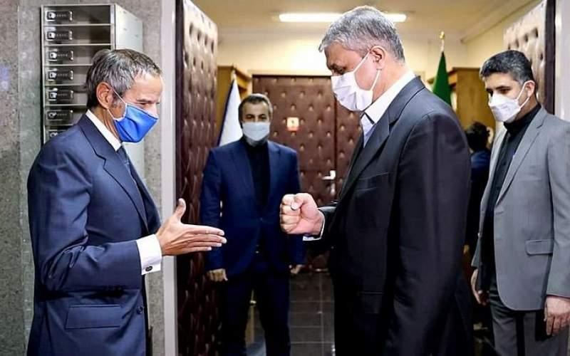 مدیرکل آژانس انرژی اتمی وارد تهران شد