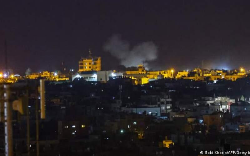 حمله جدید اسرائیل به مواضع حماس