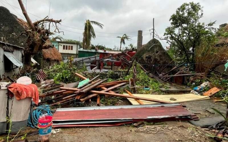 طوفان، سیل و قطعی گسترده برق در فیلیپین