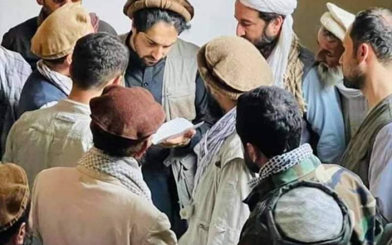 تصویر تازه فرمانده جبهه مقاومت مردمی احمد مسعود
