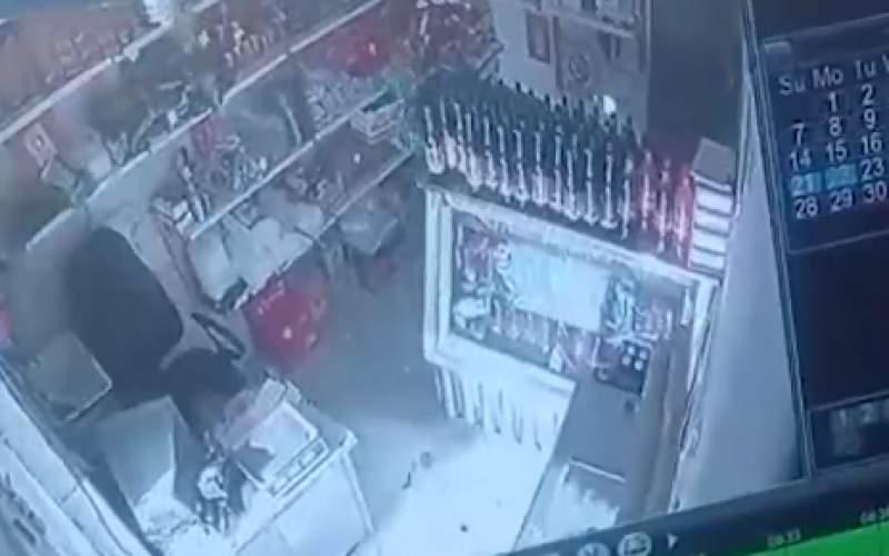 فیلمی از زلزله وحشتناک امروز خراسان رضوی