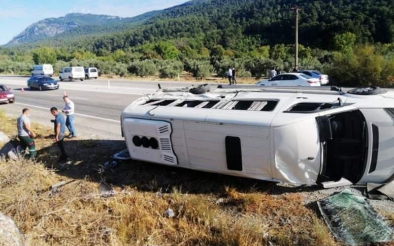 ۴۹ زخمی طی حادثه جادهای در ترکیه