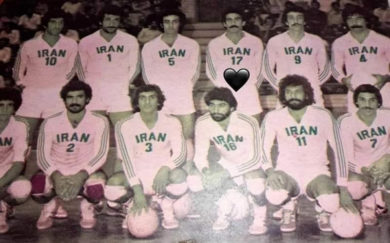ستاره اسبق والیبال ایران درگذشت