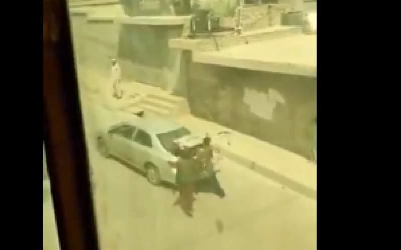 آدم دزدی طالبان در روز روشن/ فیلم