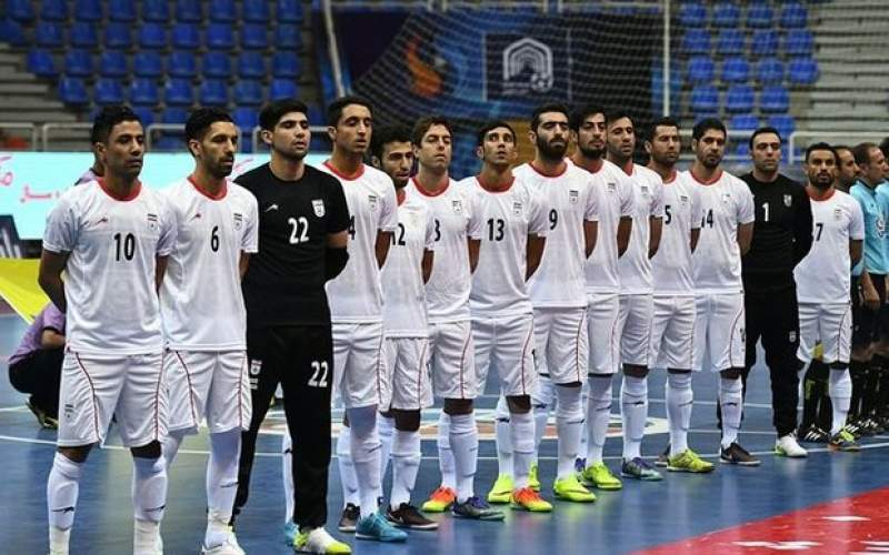 فوتسال ایران جام جهانی را با پیروزی شروع کرد