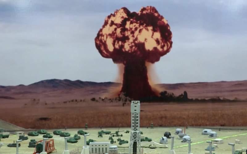 سلاحهای موجود اتمی برای چندین بار نابود کردن جهان کافی است