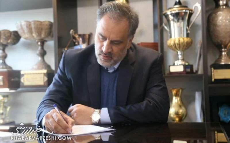 مددی: هواداران گفتند که بهترین مدیرعامل ایرانی!